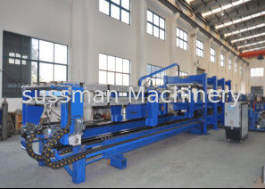 China Color Steel Discontinuous China Foam Pu Sandwich Panel Production Line for Roof Wall Panel Producing supplier