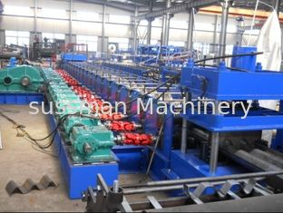 China Automatic Roll Forming Line 2 Space W Beam For Guardrails Making supplier