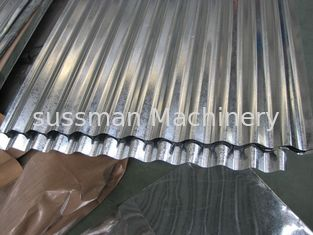 China Metal Corrugated Roof Panel Roll Forming Machine  Roller Making Machine 7.5 Kw supplier