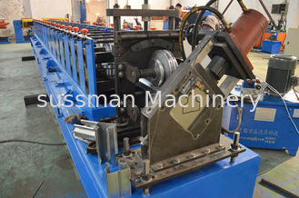 China 18 Forming Stations Heavy Duty Rack Roll Forming Machine For Galvanized Steel supplier