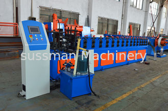 China Heavy Duty Rack Roll Forming Machine , Rack Shelving Box Beam Roll Forming Equipment supplier
