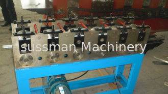 China High Speed Galvanized Steel box beam Rack Roll Forming Machine 8-10m/min supplier