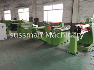 China (0.5-3)x1250mm Simple Hydraulic Slitting Line Slitting Speed 0-30m/min supplier