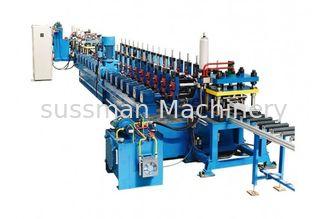 China Efficiency Door Frame Roll Forming Machine , Metal Roll Forming Line supplier
