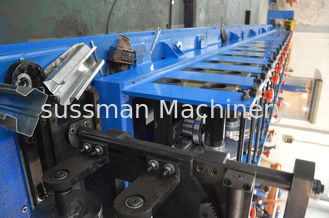 China Touch Screen PLC Control Rack Roll Forming Machine Metal Roll Forming Machine supplier