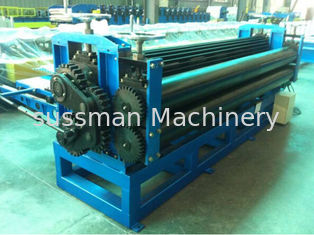 China Colour Coated Steel Barrel Type Roofing Sheet Roll Forming Machine High Speed supplier