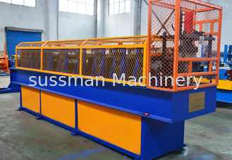 China Cold Steel Sheet Downspout Roll Forming Machine 19 Stations 0.3 - 0.6mm Thickness supplier