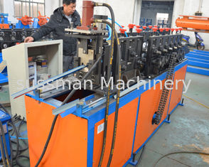China High Speed Colour Steel Angle Profile Making Machine , metal roll forming systems supplier
