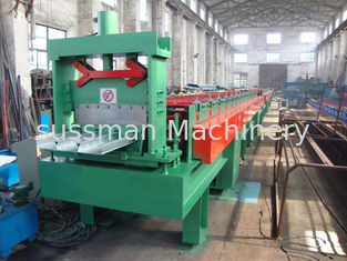 China 0.8 - 2mm Galvanized Steel Sheet Floor Deck Roll Forming Machine 380V 50Hz 3 Phase supplier
