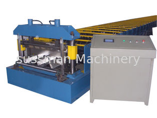 Anti-Earthquake Floor Decking Forming Machine Thickness 0.6-1.5mm