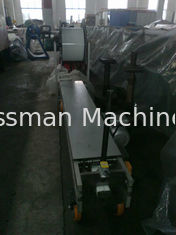 China Fully Automatic Downspout Roll Forming Machine Portable Seamless Gutter Machine supplier