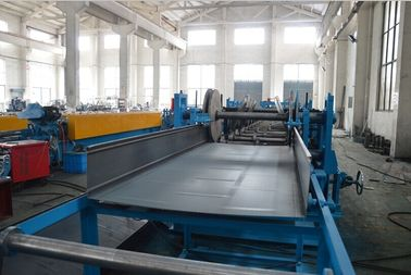 China Electric Fully Automatic Cable Tray Roll Forming Machine Main Motor Power 22kw supplier