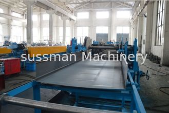 China Speed Up To 30 meters Per Minute Cable Tray Roll Forming Machine With Servo Device supplier