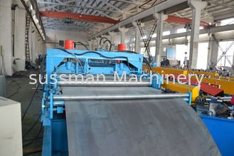 China Color Customized Chain Drive Economic Cable Tray Roll Forming Machine Hydraulic Punching supplier