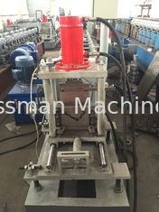 China 0.8mm Cold Rolled Sheet ' V ' Strut Stiffener Custom Roll Forming Machine For Shutter Door supplier