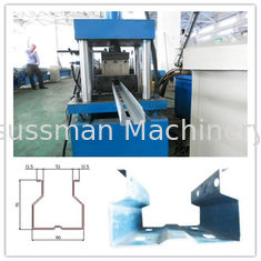 Material Thickness 2-3mm Heavy Duty Rack Forming Machine , Pallet Rack Column Roll Forming Machine