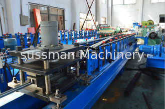 Control system PLC with touch screen solar strut roll forming machine 13 stations CE approval