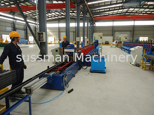 Control system PLC with touch screen solar strut roll forming machine material thickness 1.5 to 2.2mm