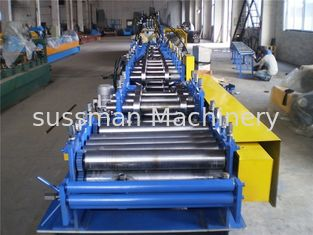 China c channel  7000w Power C Z Purlin Roll Forming Machine  3600kg Passive Decoiler supplier