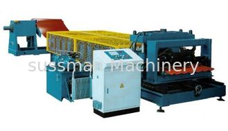 China Step Glazed Tile Roll Forming Machine supplier
