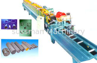 China 20 Forming Stations Downspout Roll Forming Machine For Tube CE Certification supplier