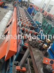 Fire Damper Roll Forming Machinery Fully Automatic Roll Making Equipment