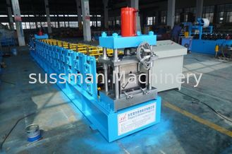 China 18 forming stations C type purlin roller making machine width adjustable 0.5 to 3mm supplier