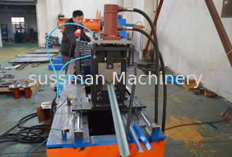 China 5.5 KW Sheet Metal Roll Forming Equipment High Speed Wall Angle Roll Forming Machine supplier