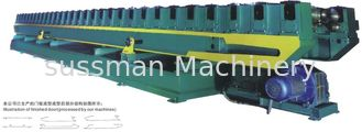 China Automatic 38 Roller Stations Shutter Door Rolling Form Machine Cold Steel Sheet supplier