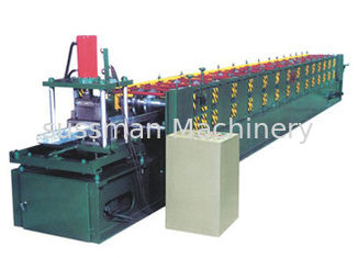 China 12 stations Shutter Door Roll Forming Machine 0.7-1.2mm customized color supplier