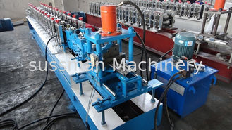 China STEEL Shutter Door Making Machine / Roll Forming  Equipment 0.7mm - 1.2mm Thickness supplier