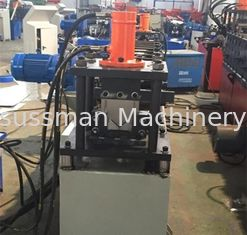 China 1 inch single chain driving system wall angle channel roll forming machine thickness 3mm supplier