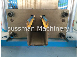 China ISO Drywall C U Stud Track Roll Form Machine 7.5Kw Metal Stud Roll Forming Machine supplier