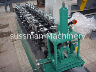 China PLC control system wall angle channel roll forming making machine forming speed 20m per minute supplier