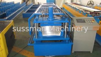 China 0.7-1.5mm Galvanized Steel Beam Standing Roof Sheet Roll Forming Machine supplier
