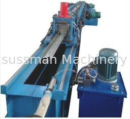 China PU Shutter Door Roll Forming Machine Fully Automatic Steel Sheet Rolling Form Machine supplier