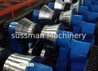 China Automatical C Z Purlin Roll forming Machine With Servo Feeding and Punching supplier
