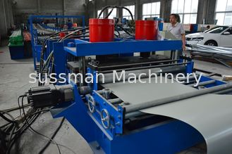 China 3.0T Cr12 Mould Steel Cable Tray Roll Forming Machine 1.0 - 2.0 mm Thick PLC Control supplier