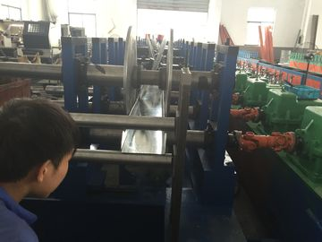 China PLC Touch Screen Control Cable Tray Roll Forming Machine Cable Tray Making Machine supplier