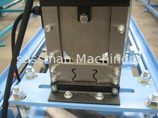 China High Main Motor Power 7.5 KW Roll Forming Machinery For Fence Post Roller Making supplier