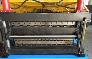 China Metal Steel Roll Forming Machine Corrugated Panel And Tile Sheet Making supplier