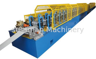 China European Style 55mm PU Foamed Rolling Shutter Door Forming Machine with 38 Roller Stations ISO Certificated supplier
