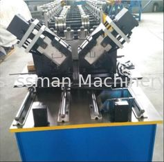 CNC Metal Stud And Track Roll Forming Machine C U Channel Section Profile 0.55-0.8mm Thickness