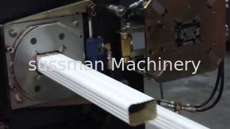 China 7.5 Kw Downspout Roll Forming Machine High Speed 0.45 - 0.55mm Galvanized Steel supplier