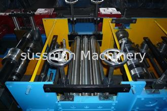 China Colored Steel Stud And Track Roll Forming Machine 7.5 kw 45# steel roller supplier