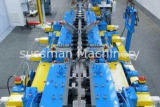China 23 Station Cable Tray Roll Form Machine Color Galvanized Steel Roll Former Machine supplier