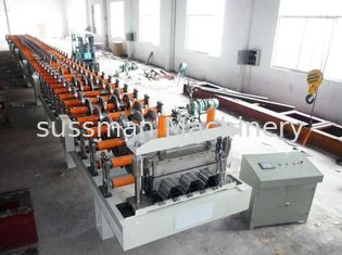 China PLC Control Floor Deck Roll Forming Machine Standard 28 Forming Stations supplier