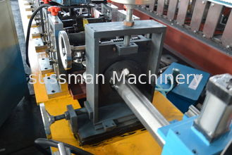 China 7.5Kw Power 60mm Shutter Door Octagon tube roll Forming Machine With 4-6m/Min Forming Speed supplier