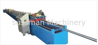 China CE Certification Shutter Door Roll Forming Machine 11T 0.7 - 1.2mm Material Thickness supplier