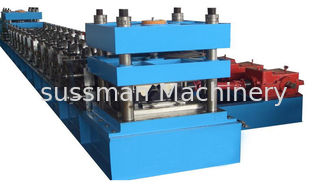 China Three / Two Waves Guard Railway Roll Forming Equipment 3 Ton Hydraulic Decoiler supplier